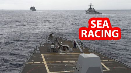 The US Navy headed for the interception of a group of Russian warships